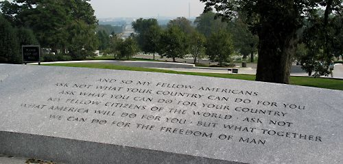Rfk Grave Quotes: Welcome To Perkasie Opinion